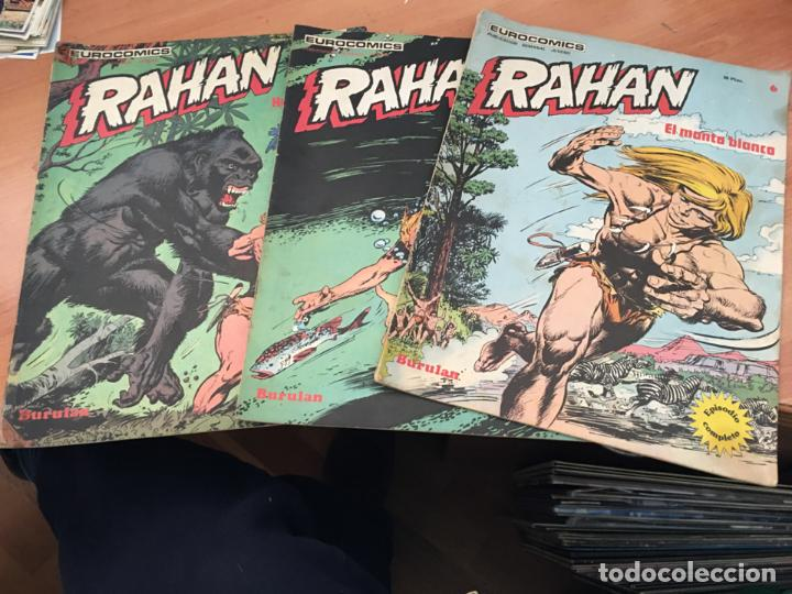 RAHAN LOTE Nº 1, 2 Y 6 (COIM24) (Tebeos y Comics - Buru-Lan - Otros)