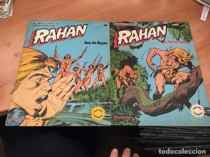 Cómics: RAHAN LOTE Nº 1, 3, 5, 6, 7, 8, 18, 19, 21, 22, 23 Y 24 (COIM24) - Foto 4 - 160165202
