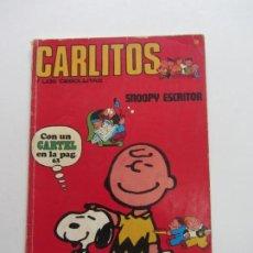 Cómics: CARLITOS Y LOS CEBOLLITAS. Nº 3. SNOOPY ESCRITOR. BURU LAN 1971 CS140B. Lote 160796562