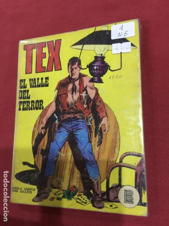 BURU-LAN TEX NUMERO 1 NORMAL ESTADO (Tebeos y Comics - Buru-Lan - Tex)