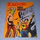 Cómics: ZAGOR Nº 58 FIERAS MORTALES COMPLETO EN MUY BUEN ESTADO ORIGINAL AÑO 1973 VER FOTO Y DESCRIPCIO. Lote 161252746