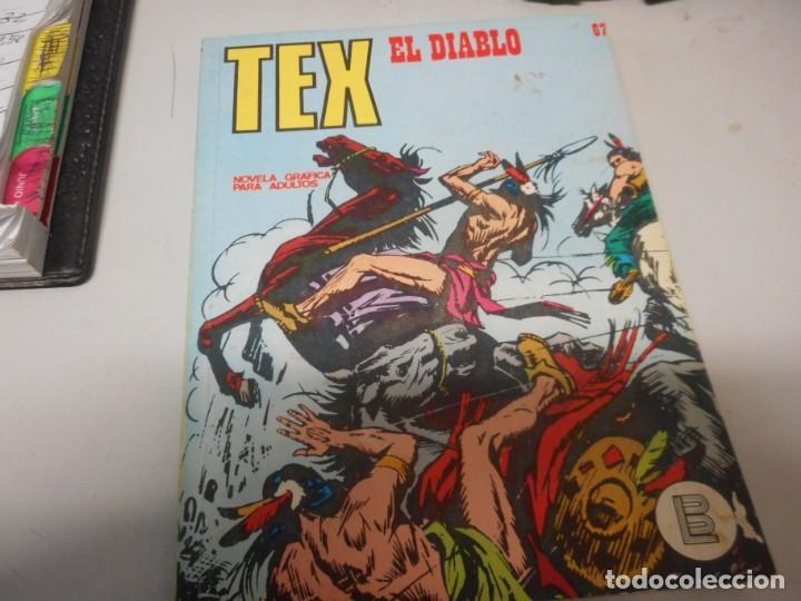 TEX 67 EL DIABLO BURULAN (Tebeos y Comics - Buru-Lan - Tex)