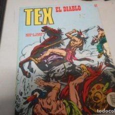 Cómics: TEX 67 EL DIABLO BURULAN. Lote 161264510