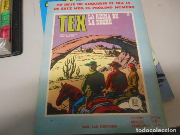 Cómics: tex 67 el diablo burulan - Foto 2 - 161264510