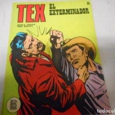 Cómics: TEX 66 EL EXTERMINADOR BURULAN. Lote 161266654