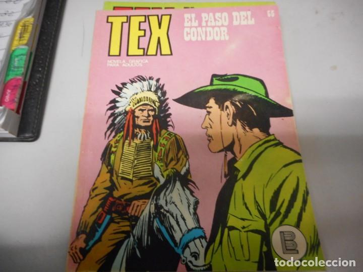 TEX 65 EL PASO DEL CONDOR BURULAN (Tebeos y Comics - Buru-Lan - Tex)