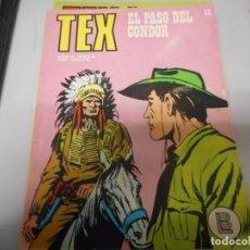 Cómics: TEX 65 EL PASO DEL CONDOR BURULAN. Lote 161267882
