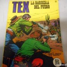 Cómics: TEX 64 LA BARRERA DEL FUEGO BURULAN. Lote 161268098