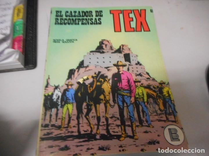TEX 61 EL CAZADOR DE RECOMPENSAS BURULAN (Tebeos y Comics - Buru-Lan - Tex)