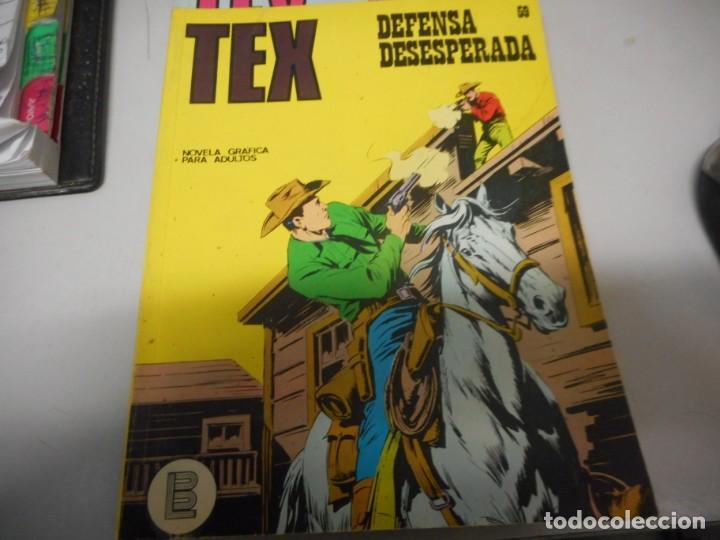 TEX 59 DEFENSA DESESPERADA BURULAN (Tebeos y Comics - Buru-Lan - Tex)