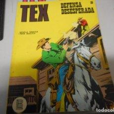 Cómics: TEX 59 DEFENSA DESESPERADA BURULAN. Lote 161272286