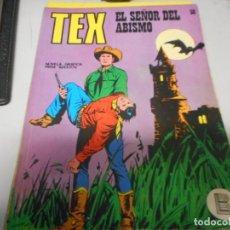 Cómics: TEX 58 EL SEÑOR DEL ABISMO BURULAN. Lote 161272842
