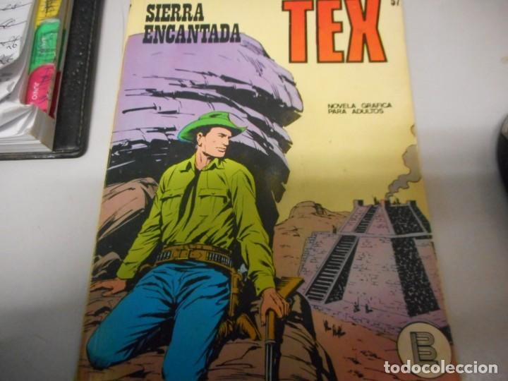 TEX 57 SIERRA ENCANTADA BURULAN (Tebeos y Comics - Buru-Lan - Tex)