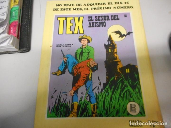Cómics: tex 57 sierra encantada burulan - Foto 2 - 161273518