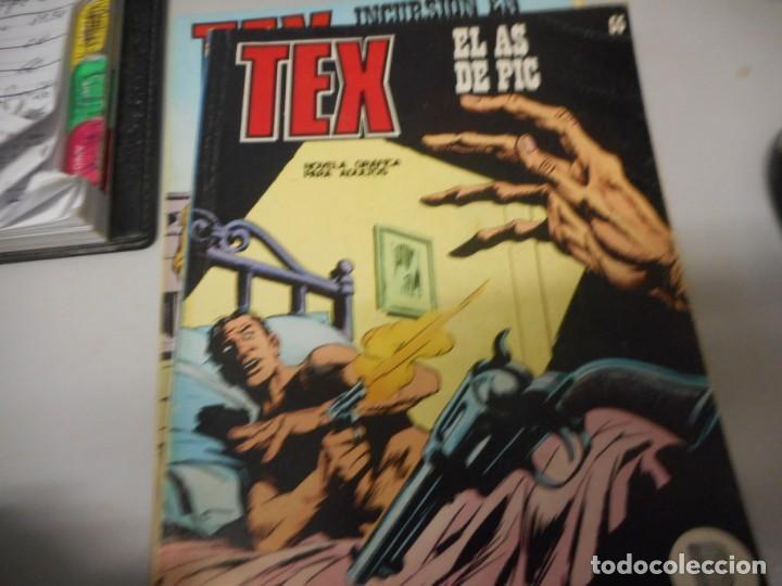 TEX 55 EL AS DE PIC BURULAN (Tebeos y Comics - Buru-Lan - Tex)