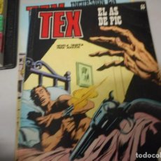 Cómics: TEX 55 EL AS DE PIC BURULAN. Lote 161276998