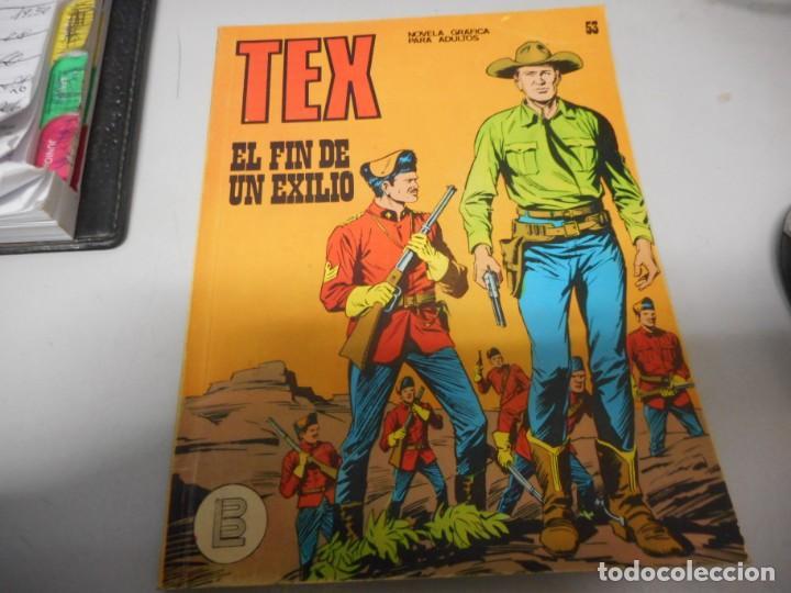 TEX 53 EL FIN DE UN EXILIO BURULAN (Tebeos y Comics - Buru-Lan - Tex)
