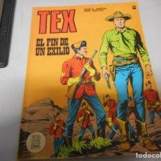Cómics: TEX 53 EL FIN DE UN EXILIO BURULAN. Lote 161278270