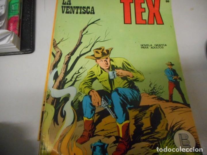TEX 52 LA VENTISCA BURULAN (Tebeos y Comics - Buru-Lan - Tex)