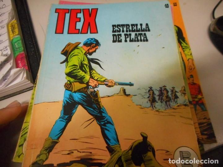 TEX 49 ESTRELLA DE PLATA BURULAN (Tebeos y Comics - Buru-Lan - Tex)