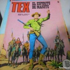 Cómics: TEX 48 EL ESPIRITU DE MANITU BURULAN. Lote 161279462