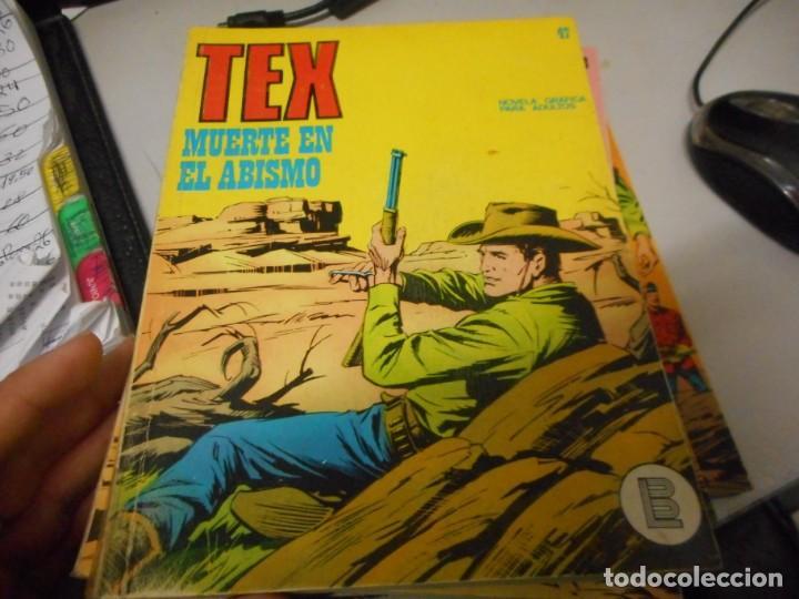 TEX 47 MUERTE EL ABISMO BURULAN (Tebeos y Comics - Buru-Lan - Tex)