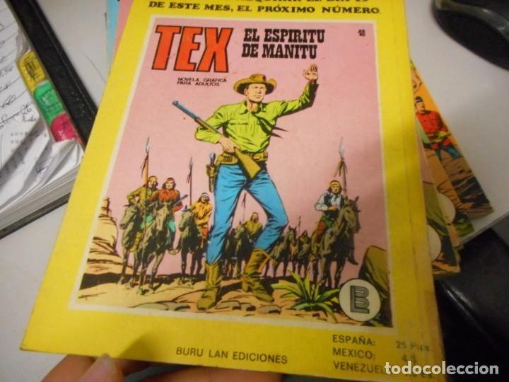 Cómics: tex 47 muerte el abismo burulan - Foto 2 - 161279654