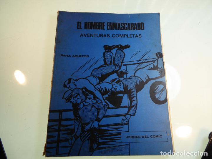 EL HOMBRE ENMASCARADO. NÚMEROS 4, 5 Y 6. ENCUADERNACIÓN CONJUNTA. BURU LAN. 1971. (Tebeos y Comics - Buru-Lan - Otros)