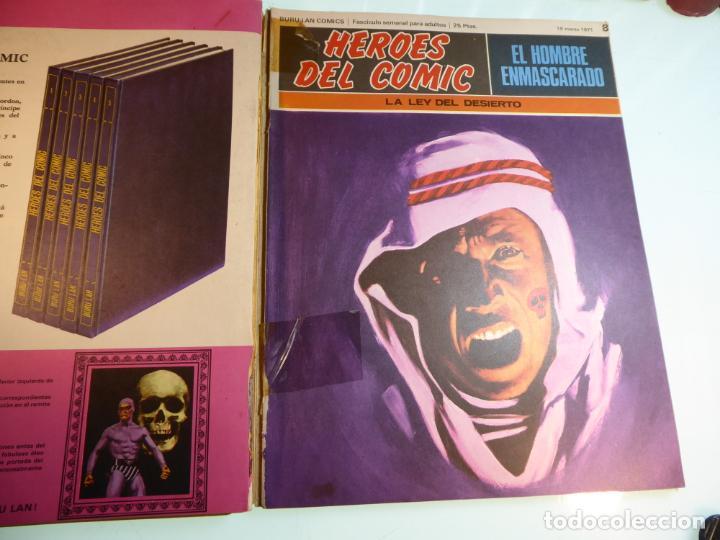 Cómics: El hombre enmascarado. Números 1,4,5,6,7 y 8. Encuadernación conjunta. Buru Lan. 1971. - Foto 2 - 161418366