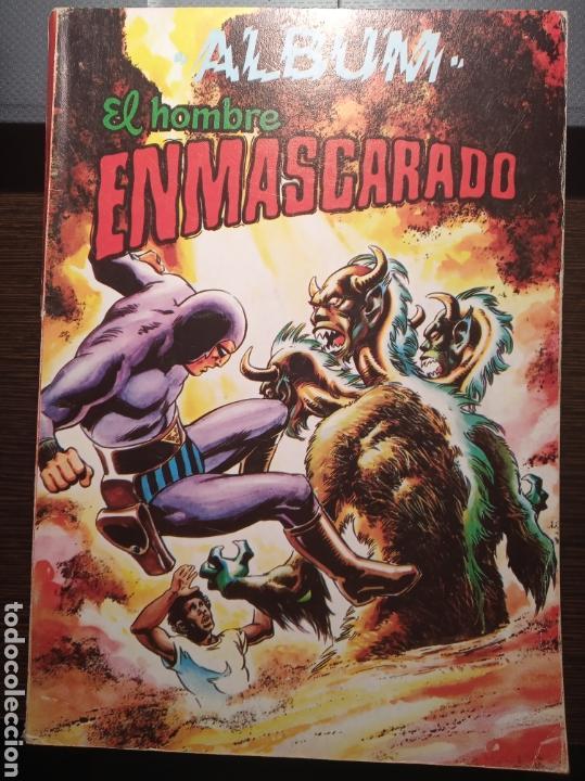 EL HOMBRE ENMASCARADO. ALBUM. 4 COMICS. COLOSOS DEL COMIC. 1980. VALENCIA. (Tebeos y Comics - Buru-Lan - Otros)