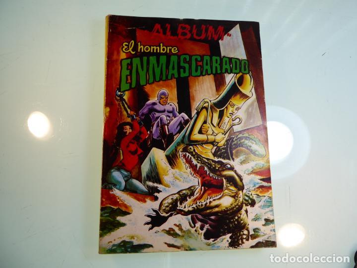 EL HOMBRE ENMASCARADO. ALBUM. 4 COMICS. COLOSOS DEL COMIC. 1981. VALENCIA. (Tebeos y Comics - Buru-Lan - Otros)