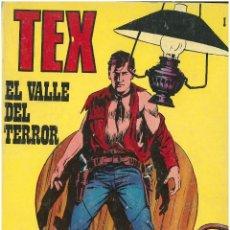 Cómics: TEX Nº 1. EL VALLE DEL TERROR. BURU LAN. C-34. Lote 161546238