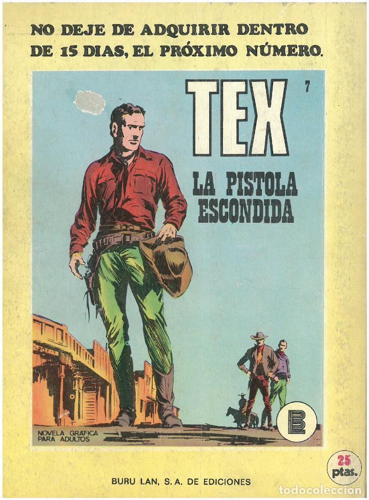 Cómics: TEX Nº 6. GUERRILLA. BURU LAN. C-34 - Foto 2 - 161567330