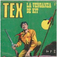 Cómics: TEX Nº 9. LA VENGANZA DE KIT. BURU LAN. C-34. Lote 161567674