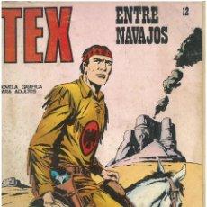 Cómics: TEX Nº 12. ENTRE NAVAJOS. BURU LAN. C-34. Lote 161568938