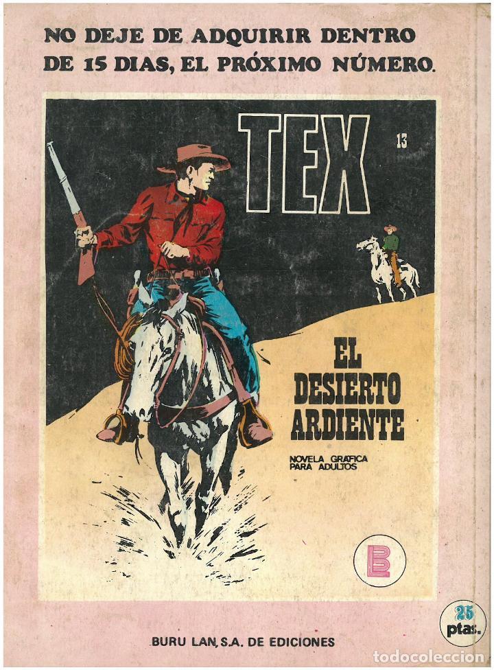 Cómics: TEX Nº 12. ENTRE NAVAJOS. BURU LAN. C-34 - Foto 2 - 161568938