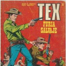 Cómics: TEX Nº 14. FURIA SALVAJE. BURU LAN. C-34. Lote 161569570