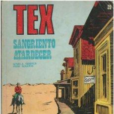 Cómics: TEX Nº 29. SANGRIENTO ATARDECER. BURU LAN. C-34. Lote 161584386