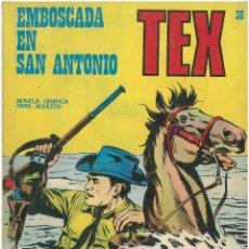 Cómics: TEX Nº 36. EMBOSCADA EN SAN ANTONIO. BURU LAN. C-34. Lote 161584998