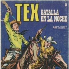 Cómics: TEX Nº 38. BATALLA EN LA NOCHE. BURU LAN. C-34. Lote 161585342