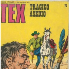 Cómics: TEX Nº 70. WANTED. BURU LAN. C-34. Lote 161719842