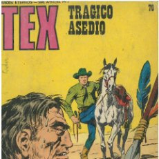 Cómics: TEX Nº 70. WANTED. BURU LAN. C-34. Lote 161720106