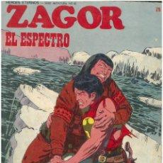Cómics: ZAGOR Nº 75. EL ESPECTRO. BURU LAN. C-34. Lote 161739822