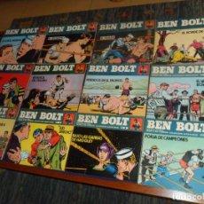 Comics : BEN BOLT NºS 1 2 3 4 5 6 7 8 9 10 11 12 COMPLETA. BURU LAN 1973. 25 PTS. RÚSTICA. BUEN ESTADO.. Lote 161763814