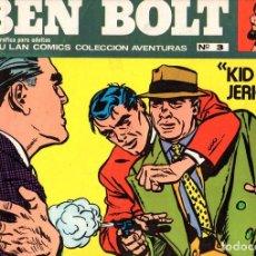 Cómics: BEN BOLT. Nº 3. KID JERICHO. BURU LAN COMICS COLECCION AVENTURAS, 1973. Lote 161786574