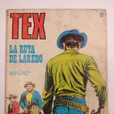 Cómics: TEX Nº37/EDITORIAL BURU LAN.. Lote 162241082