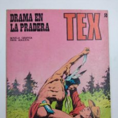 Cómics: TEX Nº50/EDITORIAL BURU LAN.. Lote 162334642