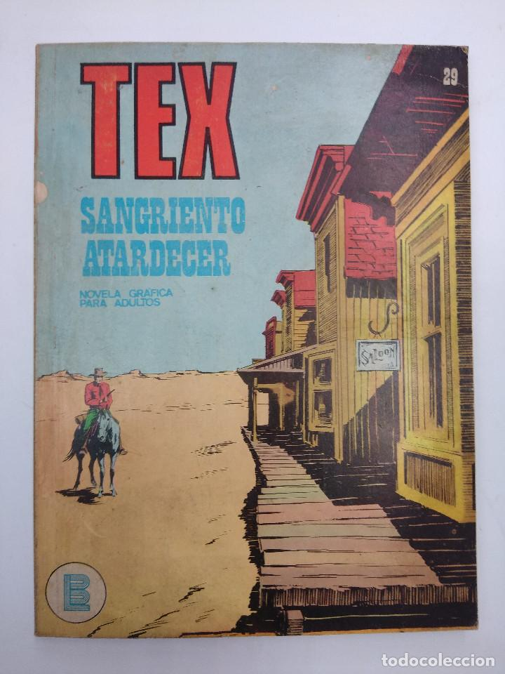 TEX Nº29/EDITORIAL BURU LAN. (Tebeos y Comics - Buru-Lan - Tex)