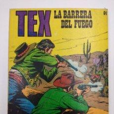 Comics : TEX Nº64/EDITORIAL BURU LAN.. Lote 162343046