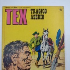 Comics : TEX Nº70/EDITORIAL BURU LAN.. Lote 162349330